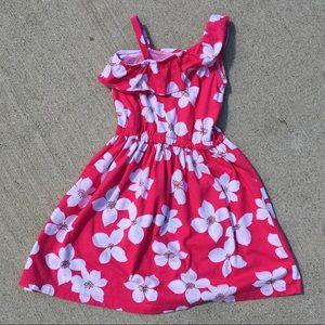 Pink Floral Spring Summer Dress Carter's Size 5